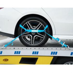 """Rad-Sicherungsgurt """"Trapez"""", 2,3 m, blau"""