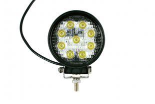 LED-Arbeitsscheinwerfer rund 27 W, 1620 Lumen, weit - ALGEMA SHOP