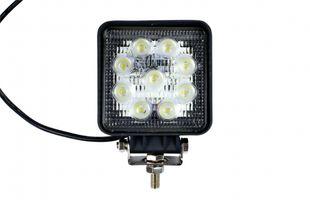 LED-Arbeitsscheinwerfer eckig 27 W, 1620 Lumen, breit - ALGEMA SHOP