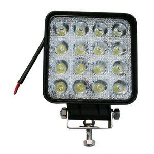 LED-Arbeitsscheinwerfer eckig 45 W, 3070 Lumen - ALGEMA SHOP