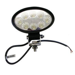 LED-Arbeitsscheinwerfer oval 24 W, 1680 Lumen - ALGEMA SHOP