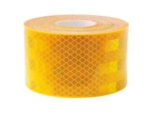Reflexfolie gelb, für Festaufbauten und Planenaufbauten - ALGEMA SHOP