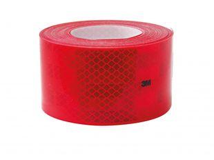 Reflexfolie rot, für Festaufbauten und Planenaufbauten - ALGEMA SHOP