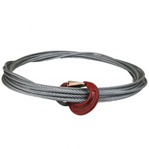 Winden-Stahlseil Durchmesser 8mm, Länge 15 m - ALGEMA SHOP