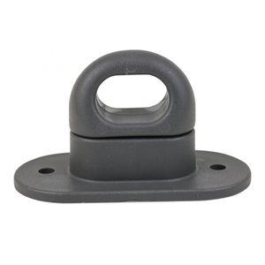 Kunststoff-Drehverschluß für Ovalöse, grau - ALGEMA SHOP