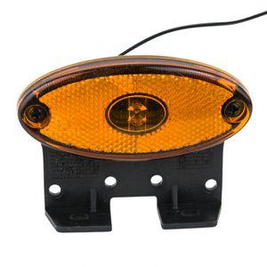Seitenmarkierungsleuchte orange oval, LED (12V) - ALGEMA SHOP