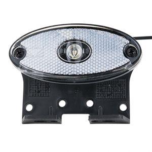 Positionsleuchte weiß oval, LED (12V) - ALGEMA SHOP
