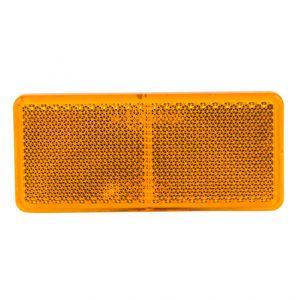 Seitenstrahler gelb zum kleben rechteckig - ALGEMA SHOP