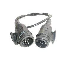 Verbindungskabel 1 mtr. 13/13 polig (13polig) für Anhänger mit Batterieversorgung - ALGEMA SHOP