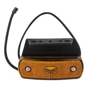 Seitenmarkierungsleuchte orange rechteckig, LED - ALGEMA SHOP