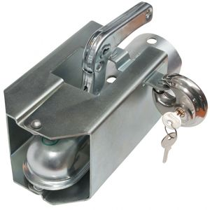 Diskusschloss mit 2 Schlüsseln Durch. 70mm - ALGEMA SHOP