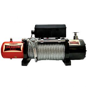 Seilwinde Dragon Winch DWM12000 HD 12V 5443 kg / Kunststoffseil - ALGEMA SHOP