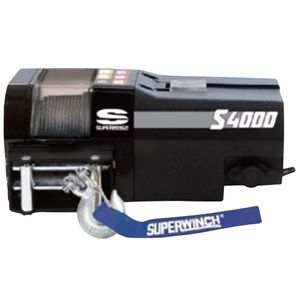 Superwinch S4000, 1814 kg, 12 V, Stahlseil