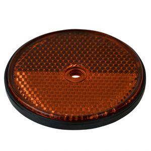 Reflektor mit Bohrung, orange - ALGEMA SHOP