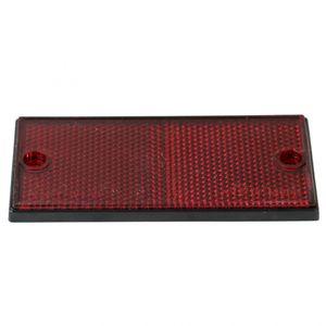 Reflektor, rot, mit Bohrung - ALGEMA SHOP