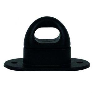 Kunststoff-Drehverschluß für Ovalöse, schwarz - ALGEMA SHOP